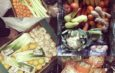 Zöldség, gyümölcs adomány
