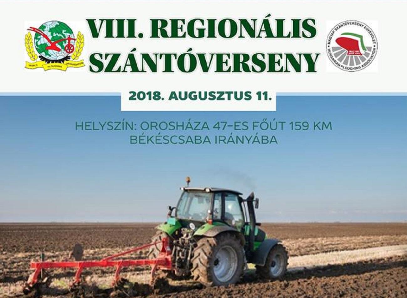 VIII. Regionális Szántóverseny