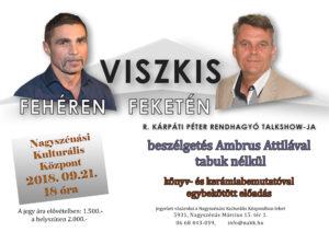 Viszkis fehéren feketén @ Nagyszénási Kulturális Központ | Nagyszénás | Magyarország