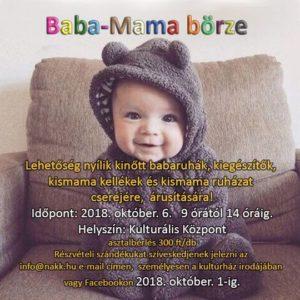 Baba-Mama Börze @ Nagyszénási Kulturális Központ | Nagyszénás | Magyarország