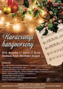 Karácsonyi hangverseny @ Petőfi Művelődési Központ | Orosháza | Magyarország